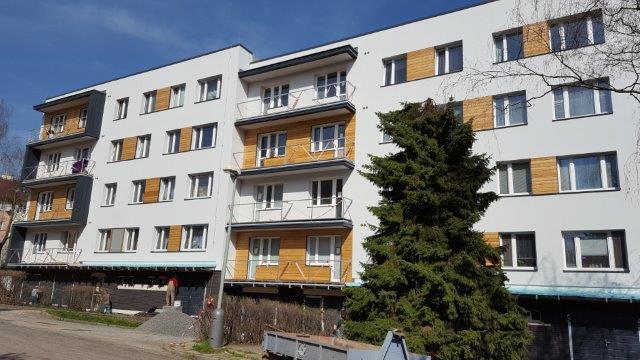 Výměna balkonového zábradlí